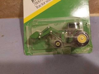 1 64 SCAlE TRACTOR WIT ENDlOADER AND 4WD PICKUP