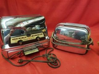 2 SlICE TOASTER  GE OVEN TOASTER  OVEN