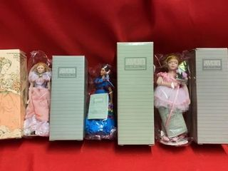4 AVON NEW DOllS   NEVER BEEN OUT OF PKG