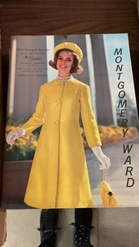 1963 SPRING AND SUMMER MONTGOMERY CATAlOG