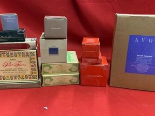 AVON COllECTIBlES VINTAGE NEW  ASSORTMENT OF