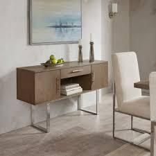 Madison Park Chock Washed Grey Sideboard   56 w x 16 d x 32 h  Retail 481 49 small chip on corner