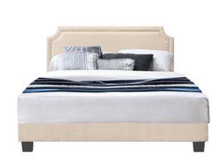 Regal Upholstered Bed  Retail 282 99 no mattress