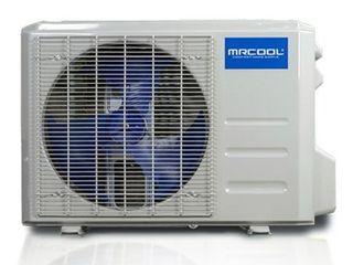 18k BTU 19 SEER Advantage Ductless Heat Pump Condenser with WiFi Smart Kit no inside heating coil