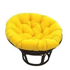 Blazing Needles 52 inch Solid Twill Papasan Cushion only Retail 84 49 yellow