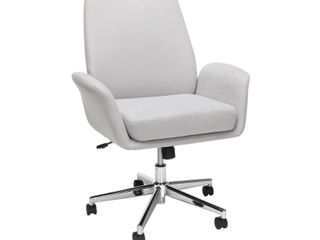 OFM Core Collection Modern Fabric Upholstered Office Chair  Cushioned Arm Chair  Retail 207 49 grey