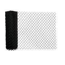 AlEKO Galvanized Steel 4 X 50 Feet Chain link Fence Fabric  10 gauge  Black  Retail 117 99