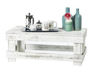 Handmade Del Hutson Designs Barnwood Coffee Table  Retail 132 49 white