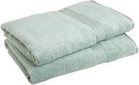Superior Absorbent Egyptian Cotton 600 GSM Bath Sheet  Set of 2