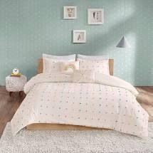 Urban Habitat Kids lucy Printed Rainbow Cotton Reversible Comforter Set  Retail 89 99