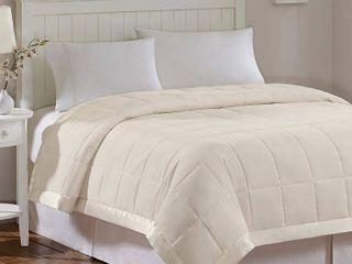 Madison Park Prospect Microfiber Down Alternative Blanket with 3M Moisture Management