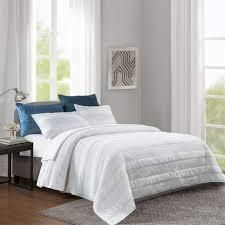 Wonderful Striped Cotton Reversible Quilt Set  Retail 91 99