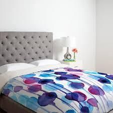 Abstract Watercolor Duvet Cover  King  Retail 138 99