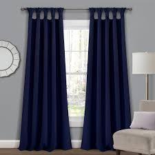 The Gray Barn Blazing Pitchforks Blackout Window Curtain Panel Pair  Retail 84 49