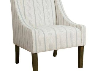 homepop Grey  Retail 210 32 swoop accent chair