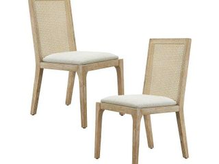 madison park ashe chairs set of 2 Natural  Retail 281 99