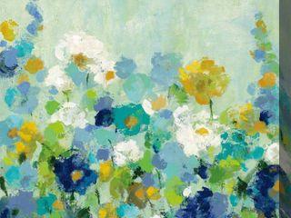 Midsummer Blue Indoor Outdoor Art   Multi color  Retail 91 99