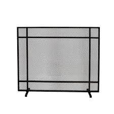 Cabarrus Modern Single Panel Fireplace screen by Christopher Knight Home  Retail 116 99 black