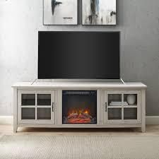 Copper Grove Dornbirn 70 inch Fireplace TV Console only Retail 375 99 grey wash