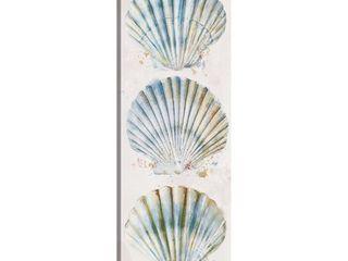Shell Panel I by Studio Arts Canvas Art Print