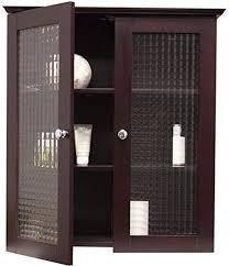 windham wall cabinet with 2 glass door