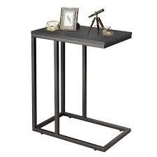 Snack Side Table C Shaped End Table