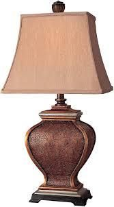 Antique Gold 1 light led Table lamp by Minka lavery  Retail 83 23