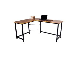 Classic Oak Camden l Shaped Computer Desk Retail  154 99