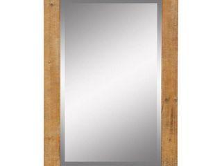 Morris Wall Mirror   Nutmeg 36 x 24   36 h x 24 w x 1 d   Retail 88 99