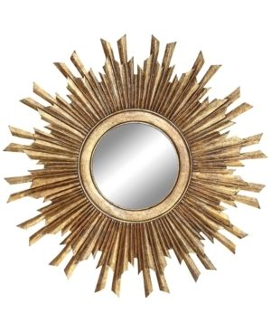 Distressed Gold Gold Sunburst Mirror Distressed Gold Retail  172 49
