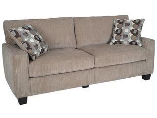 Beige Serta RTA Palisades Collection 73 Sofa in Kingston Beige Retail  413 49