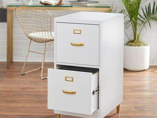 Carson Carrington Erfjord 2 drawer File Cabinet  Retail 163 19