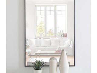 Carson Carrington Salsnas Metal Frame Rectangular Mirror  Retail 114 99