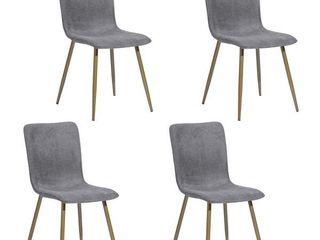 Carson Carrington Viken Fabric Dining Chair  Set of 4  Retail 217 99