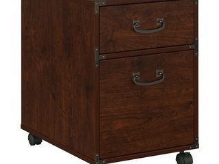 Ironworks Mobile File Cabinet from kathy ireland Home by Bush Furniture   Retail 162 99