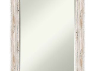 The Gray Barn Wilset Medium White Wash Wall Mirror  Retail 109 99