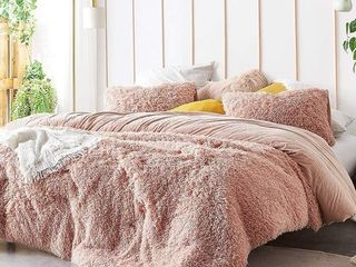Coma Inducer Oversized Comforter   Queen Blush Retail 97 99