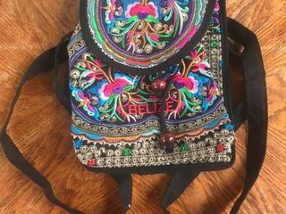Belize Hand Crafted Back Pack