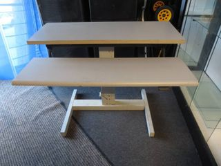 Adjustable Table  48 W x 33 l x 38 H