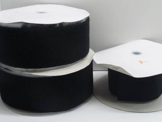 Three Rolls of one sided adhesive Velcro