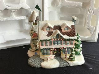 Hawthorne Village Santa s Toy Workshop Authentic issue in Rudolph s Cristmans Town Village Collection Sculpture   D1122