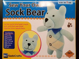 Sew Your Own Sock Bear