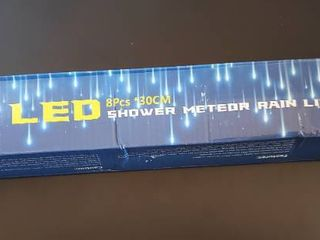 lED Shower Meteor Rain light