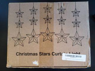 Christmas Stars Curtain light