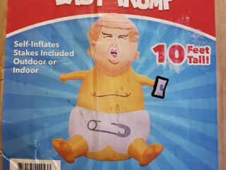 10 Ft  Inflatable Baby Donald Trump
