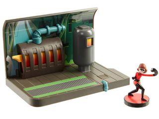 Incredibles 2 lab Assault Playset with Elastigirl Mini Figure