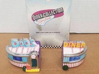 Diner Collection Dads Diner salt and pepper shaker