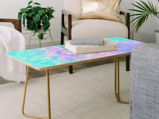Deny Designs Poolside Melt Coffee Table  Retail 138 99