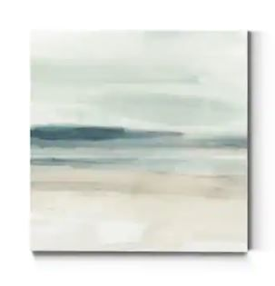 Blue Sands I  Premium Gallery Wrapped Canvas   Ready to Hang