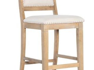 The Gray Barn Nook Natural 30 inch Barstool  Retail 126 49